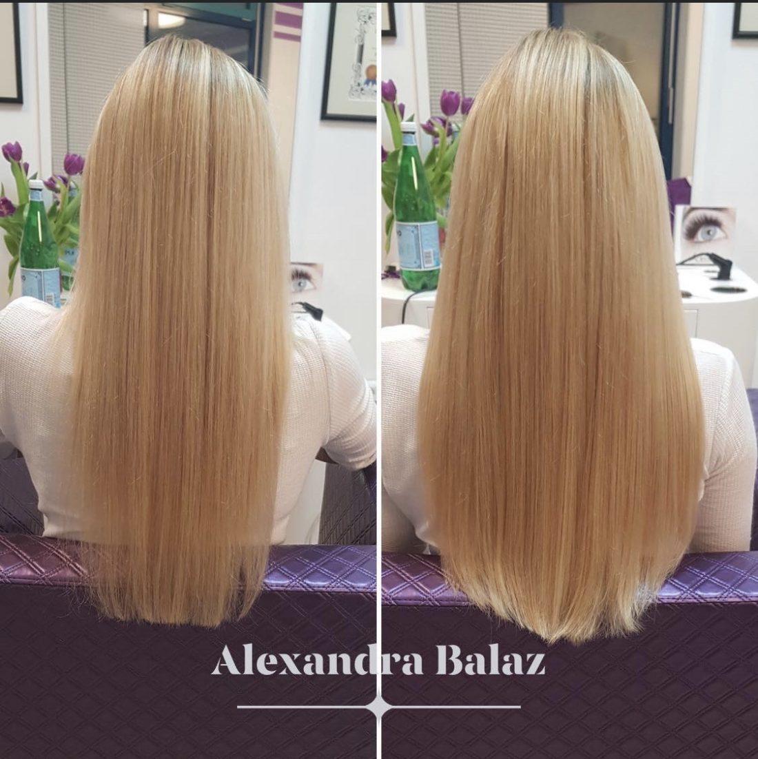 Haarverlängerungen mit Echthaar aus Russland