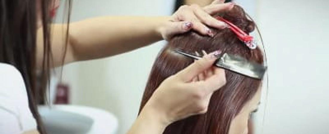 Die neueste Methode der Haarverlängerung