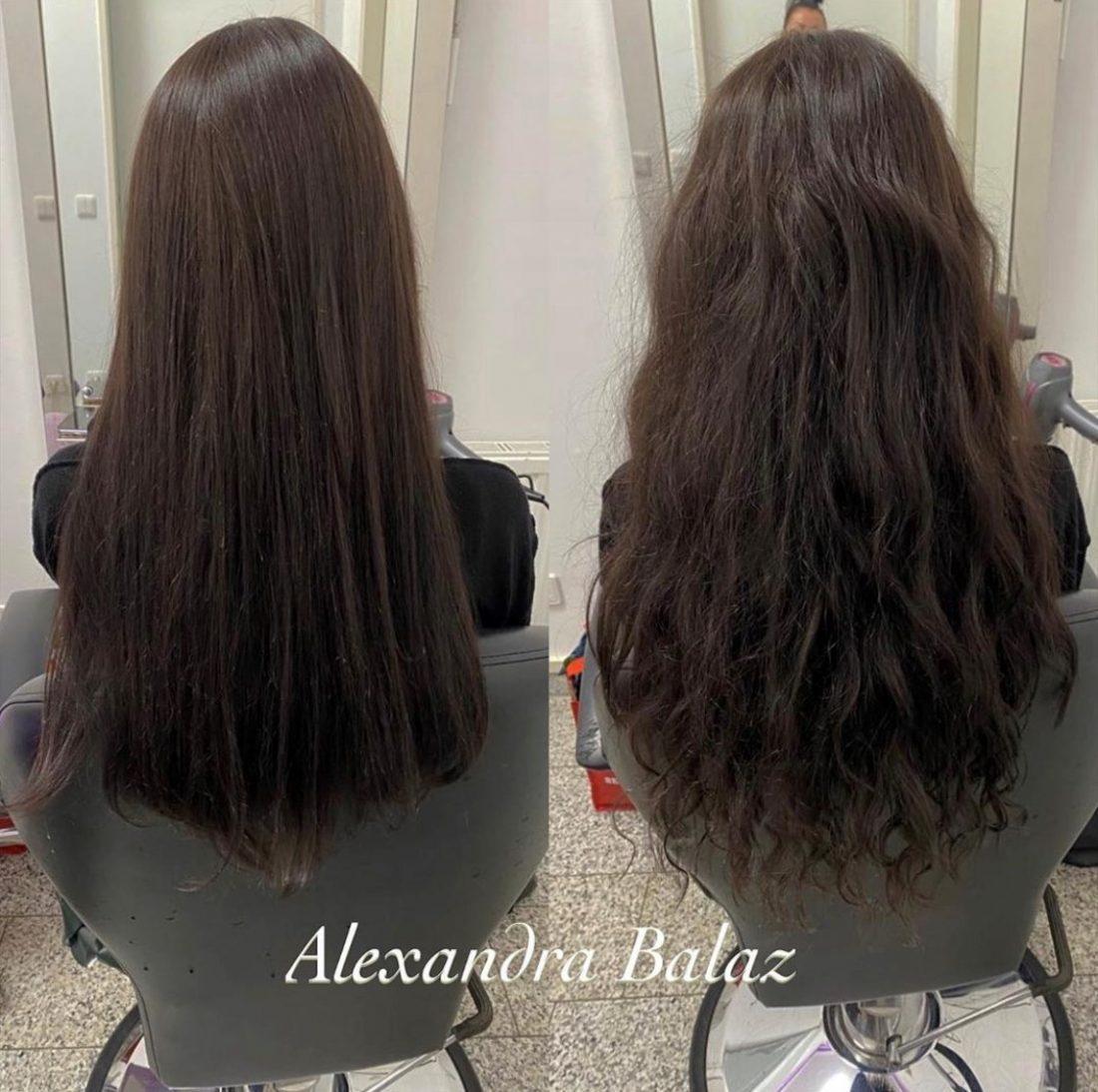 Haarverlängerung mit Echthaar aus Ukraine